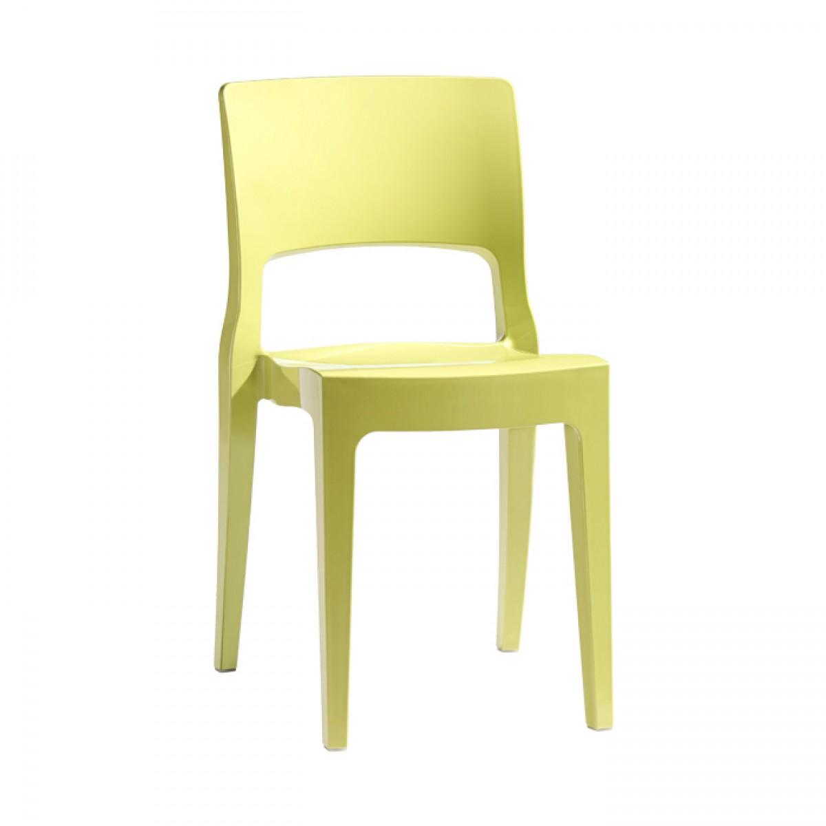 Isy tecnopolimero franchi sedie sedie sgabelli for Sedia ufficio gialla